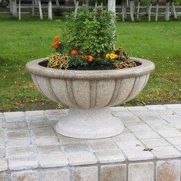 Садовые фигуры и цветочницы - вазы цветочные уличные из бетона калининград, 0