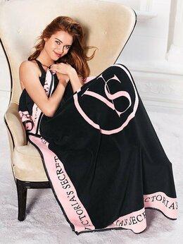 Пледы и покрывала - Нежный плед Victoria's Secret, новый, 0