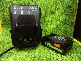 Аккумуляторы и зарядные устройства - Зарядное устройство AEG AL18G 18 В + Аккумулятор…, 0