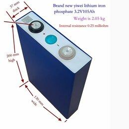 Блоки питания - Lifepo4 Аккумулятор 105Ач и др, новые (лодочного мотора и пр.), 0