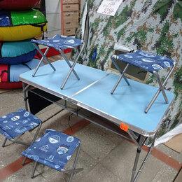 Походная мебель - Раскладной туристический комплект стол +4-ре стула , 0