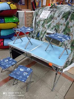 Походная мебель - Раскладной туристический комплект стол +4-ре…, 0