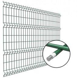 Заборчики, сетки и бордюрные ленты - Заборные панели 3D 1030x2500мм, Сварные, оцинкованные ограждения, 0