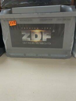 Аккумуляторы  - Аккумулятор ZDF 74Ah 760A, 0