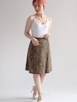 Юбки - Юбочка летняя леопардовая, 0