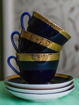 Кружки, блюдца и пары - Чашка с блюдцем СССР , 0