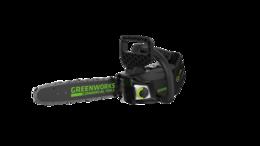 Электро- и бензопилы цепные - Аккумуляторная цепная пила Greenworks GD40TCS, 0