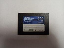 Внутренние жесткие диски - SSD Patriot BURST 240Gb, 0