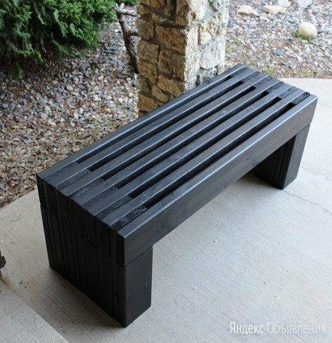 Скамья деревянная по цене 4700₽ - Скамейки, фото 0