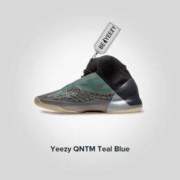 Кроссовки и кеды - Adidas Yeezy Quantum Teal Blue (Адидас Изи Буст…, 0