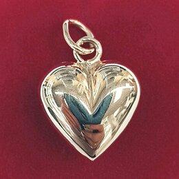 Кулоны и подвески - Золотой кулон сердце  - арт 7590043, 0