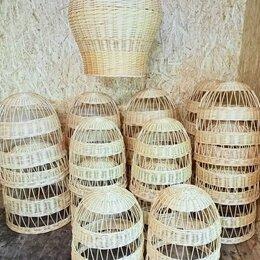 Люстры и потолочные светильники - Плетеный светильник люстра абажур купить красивый, 0