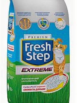 Косметика и чистящие средства - FRESH STEP Clay тройная защита, впитывающий, 0