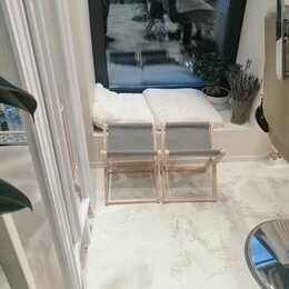 Мебель - Складной стульчик для сумки, 0