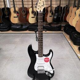 Электрогитары и бас-гитары - Новая электрогитара Fender Squier Bullet Trem HSS, 0