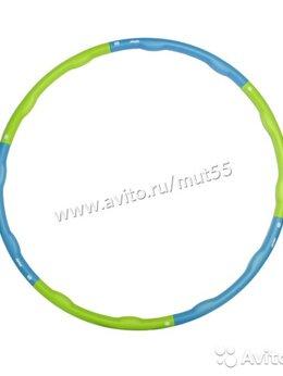 Обручи - Обруч массажный разборный (90см, 1.2 кг), 0