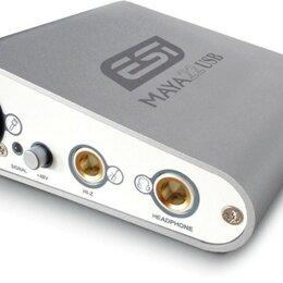 Оборудование для звукозаписывающих студий - ESI MAYA22 USB, 0