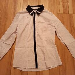 Рубашки и блузы - Школьная белая блузка, 0