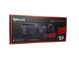 Комплекты клавиатур и мышей - Игровой набор Redragon 4в1 - клавиатура,…, 0