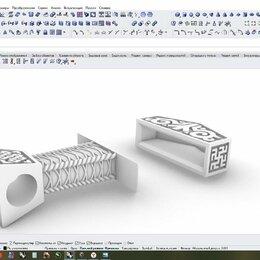 Рекламные сувениры - Моделирование ювелирных изделий, печать на 3dпринтере и фрезеровка по воску, 0