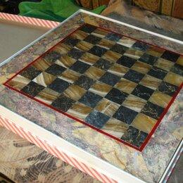 Игровые столы - Шахматы из оникса, 0