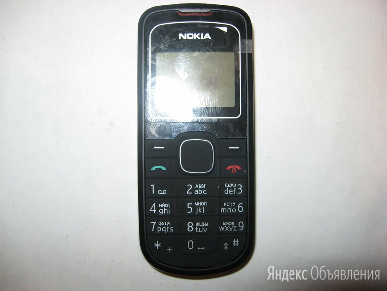 Nokia 1202 Black новый по цене 2000₽ - Мобильные телефоны, фото 0
