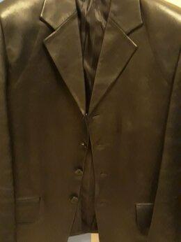 Пиджаки - пиджак кожаный мужской, 0