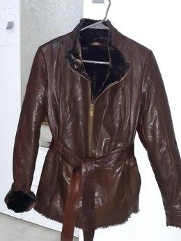 Куртки - Куртка женская кожанная 42, 0