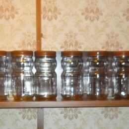 Солонки, перечницы и ёмкости для специй - Дюжина (12 шт.) банок для кухни с винтовыми крышками., 0