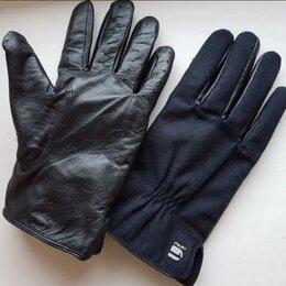 Перчатки и варежки - Перчатки G-Star Raw Estan Wysel Leather Gloves, 0