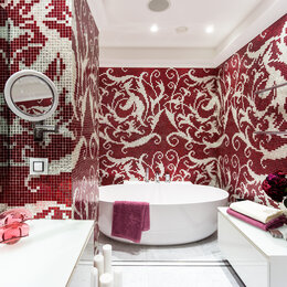 Мозаика - Мозаика Плитка в ванную панно из мозаики, 0