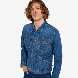 Куртки - Куртка джинсовая Wrangler Icon 124MJ Retro, 0