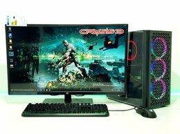 Настольные компьютеры - Игровой пк на Core i3-10100F+GTX 1650 4Gb+Монитор, 0