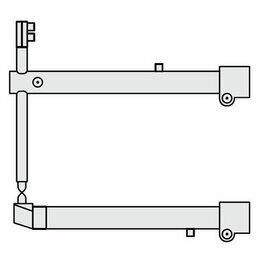 Аппараты для контактной сварки - Комплект плечей O 40 х 700мм прямые c…, 0