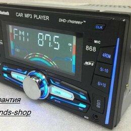 Музыкальные центры,  магнитофоны, магнитолы - Автомобильная магнитола DHD-Pioneeir 868 2DIN, 0