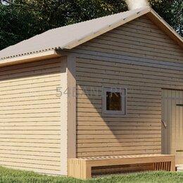Готовые строения - Строим Бани из бруса 3*4 м (парилка, предбанник), 0