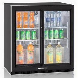 Холодильные витрины - Шкаф барный холодильный Hurakan HKN-DB205S, 0