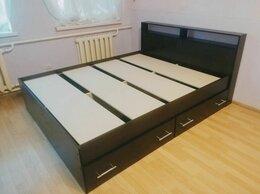 Кровати - Кровать 1,6 м с ящиками новая, 0