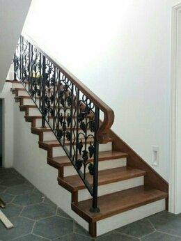 Лестницы и элементы лестниц - Лестница на второй этаж металлическая , 0