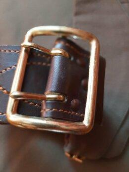 Ремни и пояса - Ремень офицерский кожаный , 0