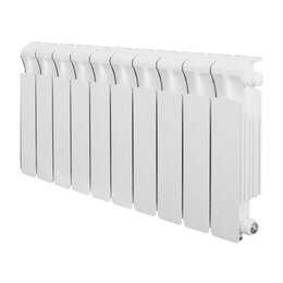Радиаторы - Радиатор бимет. rifar Base 350/90/10 секций, 0