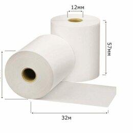 Бумага и пленка - Чековая лента  57*46мм 32м (5942) 18*9 (162шт) термобумага, 0