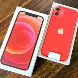Мобильные телефоны - iPhone 12 mini Red 256gb новые Ростест, 0