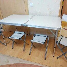 Походная мебель - Стол туристический с табуретами, 0