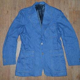 Пиджаки - Пиджак джинсовый Levis Panatela, USA, из 70-х, 0