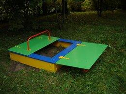Песочницы - Песочница для детей с крышкой 1500х1500х450мм, 0