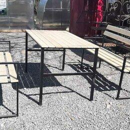 Комплекты садовой мебели - Садовая мебель, лавочка, стол, 0