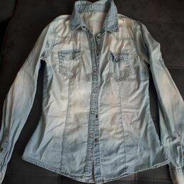 Блузки и кофточки - Рубашка джинсовая, 0