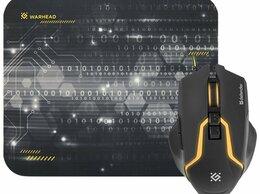 Комплекты клавиатур и мышей - Игровой набор Defender Warhead MP-1400, 0