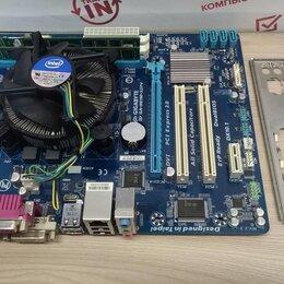 Материнские платы - Процессор Intel Core i3-2100 и Мат плата Ga-h61m-s2v , 0